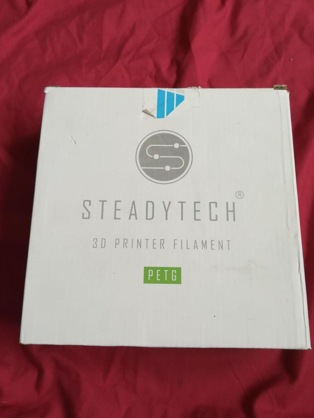 Steadytech 3d Printer Filament - Black
