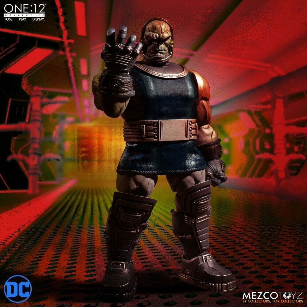 Darkseid One 12 Collective Light-Up Action Figure Mezco - Official