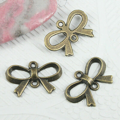 50Pcs Silver Gold Bronze Plated Angel Charms Pendant For Bracelet 21.5x15mm