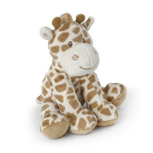 Suki Baby Small Bing Bing Soft Rattle with Embroidered Accents Giraffe Teddy
