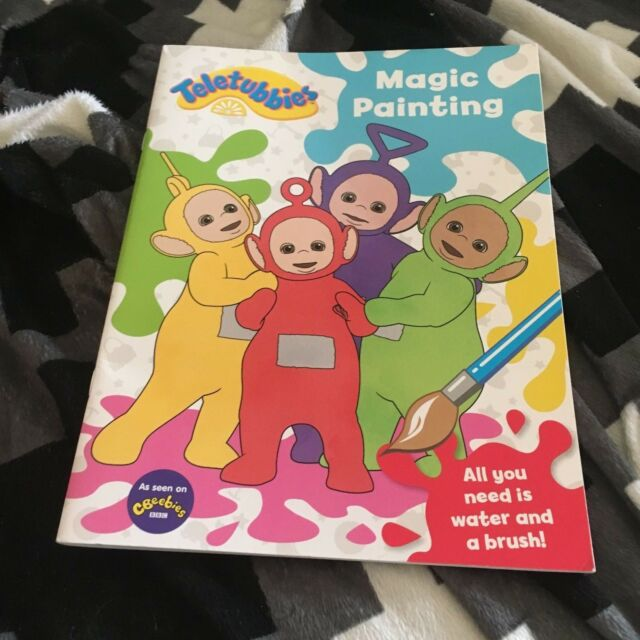 NEW TELETUBBIES. MAGIC PAINTING. 9781405285636