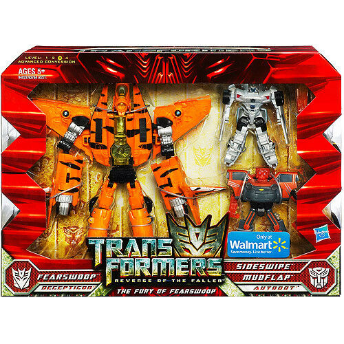TRANSFORMERS ROTF The Fury of Fearswoop USA Walmart Exclusive Toy Figure Pack