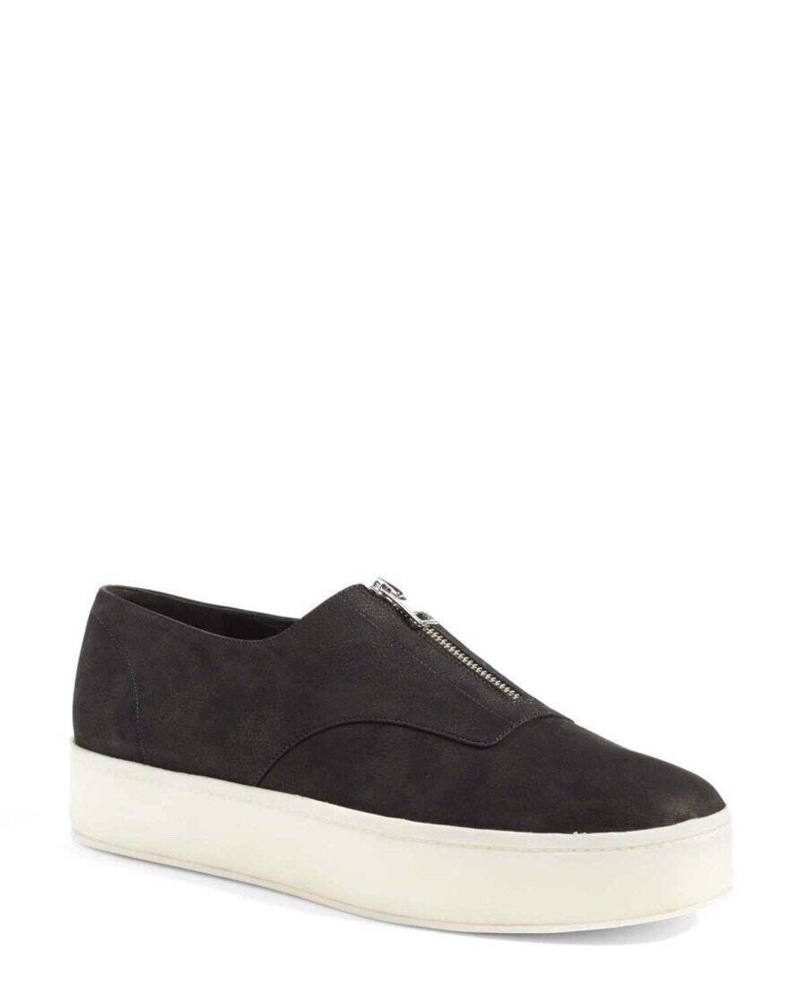 Vince Women's Warner Platform Sneaker Slip On, Black, Size 8.5 NIB