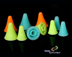 4 paar Maschenstopper Spitzenschoner in versch.Größen  Farben