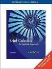 Calculus: An Applied Approach by Ron Larson (Paperback, 2009)