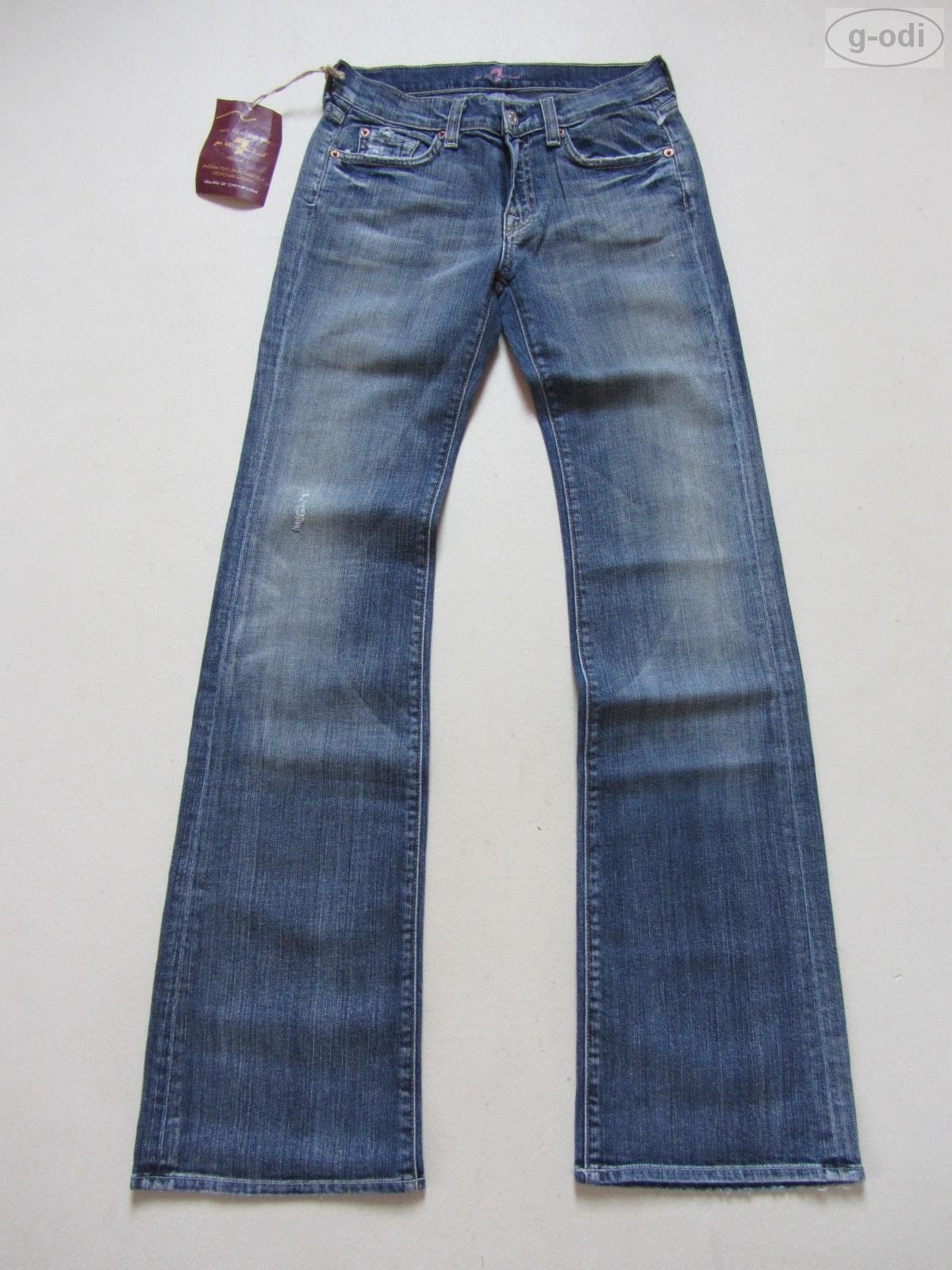 7 For All Mankind Jeans Hose W 27  L 32 NEU   Vintage Denim Made in USA