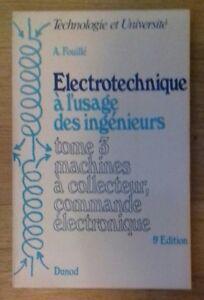 ELECTROTECHNIQUE-A-L-039-USAGE-DES-INGENIEURS-TOME-3-Dunod-1974-TTBE