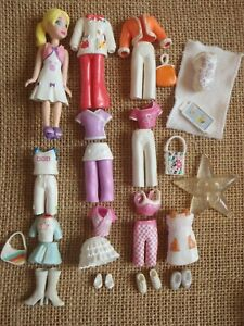 Polly-Pocket-Doll-Lot-034-Colors-of-the-Rainbow-034-White-Pet-Clothes-Outfits-6-46