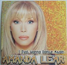 """AMANDA LEAR - CD SINGLE """"I JUST WANNA DANCE AGAIN"""""""