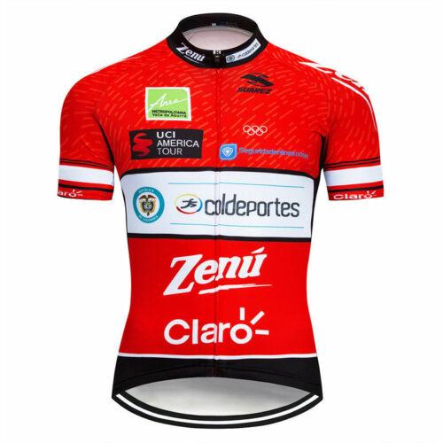XSU197 Road Mens Racing MTB Cycling Short Sleeve Jersey and bib Shorts