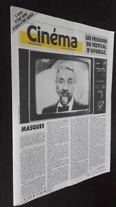 Revista-Semanal-Cinema-Semana-de-La-11A-17-Febrero-1987-N-387-Buen-Estado