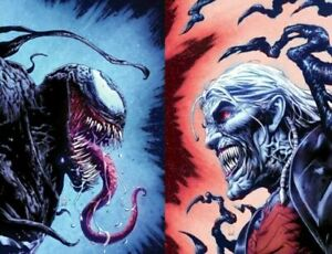 Venom #28 and #29 Valerio Giangiordano Connecting Virgin Limited 1000 sets KNULL