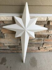 Blow Mold Union North Star!  Lighted Outdoor Christmas Nativity!  39""