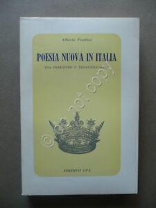 Poesia-Nuova-in-Italia-tra-Ermetismo-e-Neoavanguardia-Alberto-Frattini-IPL-1968