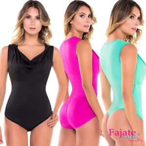 868a914e80 Image is loading Shaper-Shirt-Sexy-Women-Control-Shapewear-Thong-Tanga-