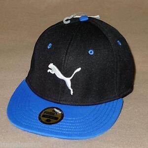 Image is loading PUMA-Basic-Stretchfit-Baseball-Fitted-Cap-Flat-Brim- 7222834c4dd
