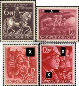 Deutsches-Reich-907-908-909-910-kompl-Ausg-Jahrgang-1945-komplett-postfrisch