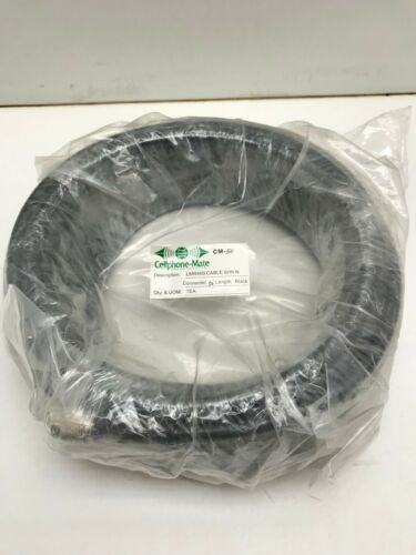 Cellphone-Mate 50/' LMR-400 Coax Cable w// N connector  #8083