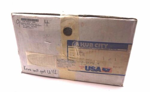 NEW SEALED HUB CITY 022003514 STRAIGHT BEVEL GEAR DRIVE MODEL 66 022003514