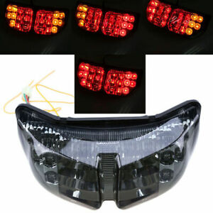 LED Tail Light Integrated Brake Turn Signals for Yamaha FZ1 FZ8 2006-2012 Smoke