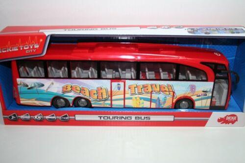 Dickie 203745005 - Toys City - Touring Bus - Beach Travel (Ca. 30cm) - Neu