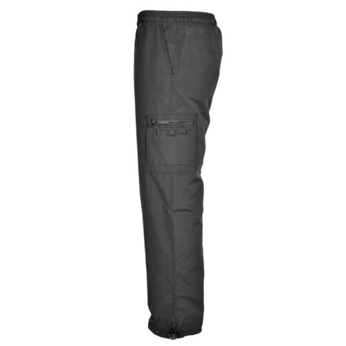 NUOVA linea uomo Combat Cargo Con Fodera Termica Lavoro Pantaloni Casual a prova di doccia