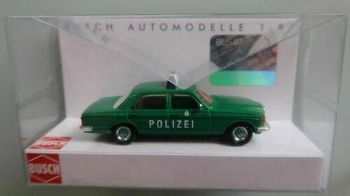 Busch 46860 Mercedes-Benz W123 Polizei 1:87 NEU//OVP
