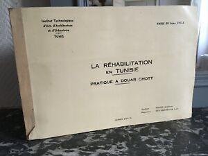 Estudio-Instituto-Arquitectura-La-Rehabilitacion-En-Tusisie-De-Douar-Schott-1979