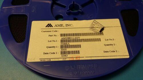 AME8801LEEV AME INC LDO Regulator Pos 1.5V 0.3A 5-Pin SOT-25 10 PCS
