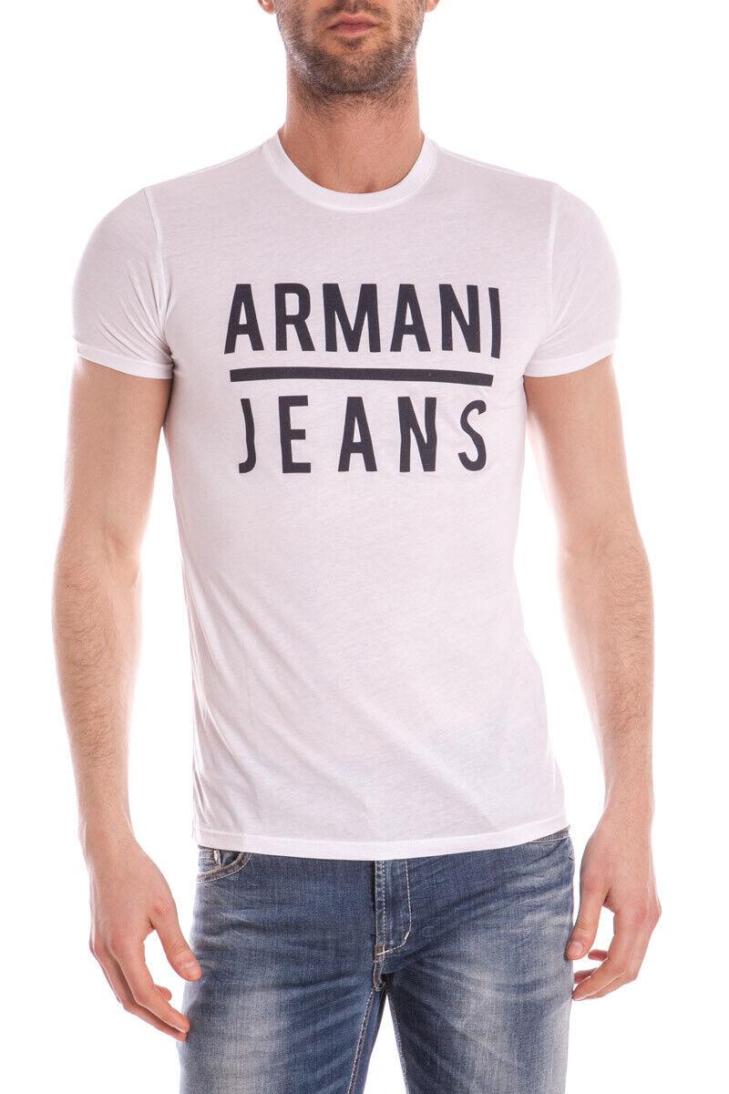 Armani Jeans T hemd schweißhemd baumwolle Man Weiß C6H20LL 10 Sz. XXL PUT OFFER