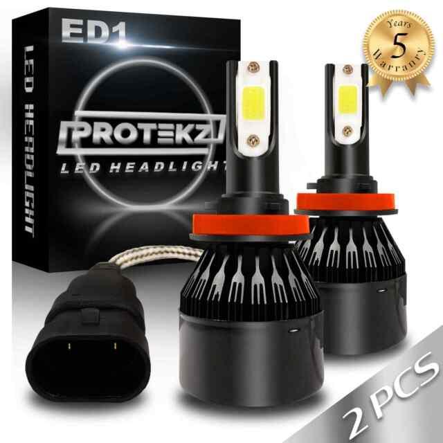 LED Fog Light Kit Protekz 5202 6000K CREE for 2007-2015 GMC SIERRA