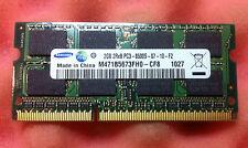 2GB DDR3 laptop memory RAM PC3-8500S 1066MHz SODIMM SAMSUNG (single 2GB module)