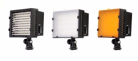 NEW LED Camera Video Continuous Light 3200K - 5400K for Canon Nikon Sony Olympus Pentax Panasonic