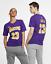 Nike-Dri-Fit-Lebron-Giacomo-Los-Angeles-Lakers-Uomo-NBA-T-Shirt-XL-Viola-T-Shirt miniatura 1