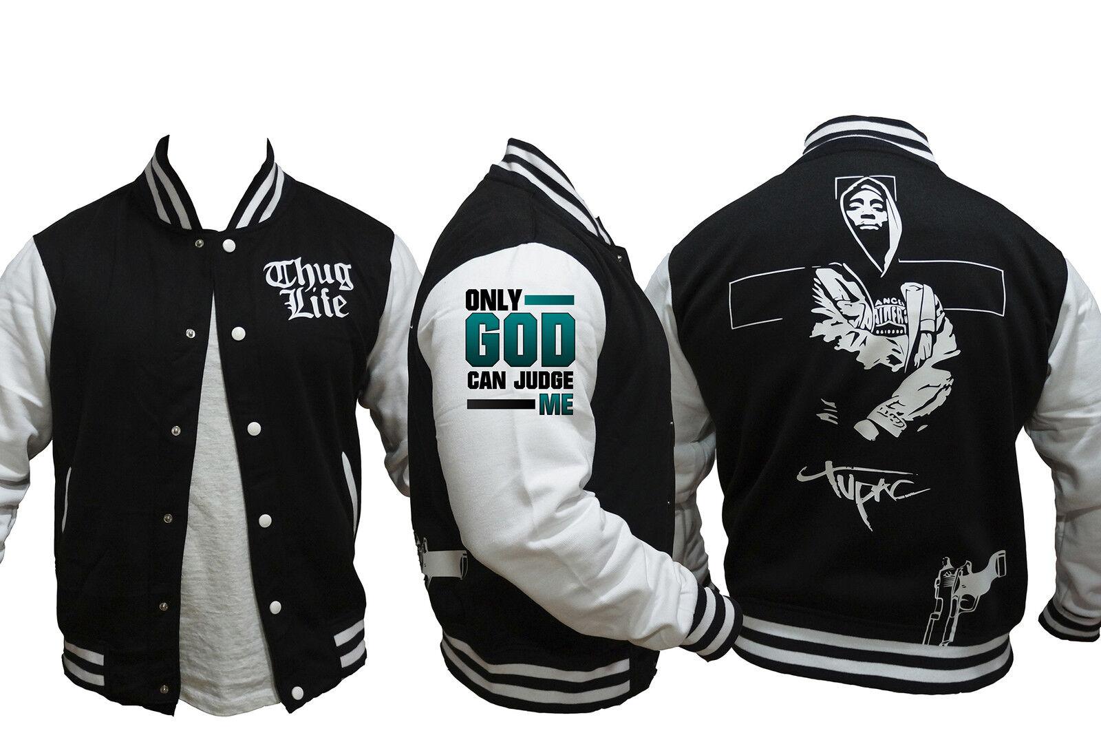Chaqueta Tupac Shakur Rap Hip Hop  2pac Exclusiva   Felpa perchada