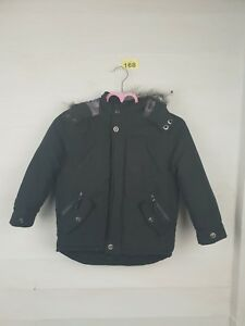 Boys-Thick-Black-Winter-Coat-Age-5-6