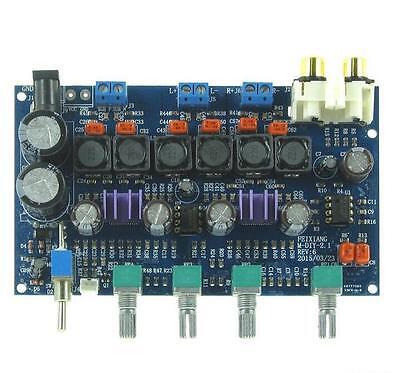 TPA3116D2 Digital 2.1 Amplifier Board Subwoofer AMP 50W+50W+100W for 12v 24v car