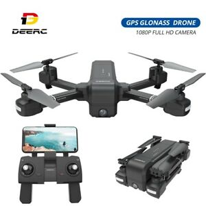 GPS-Drone-with-1080P-Camera-Foldable-FPV-RC-Quadcopter-DE25-Smart-Follow-Tapfly