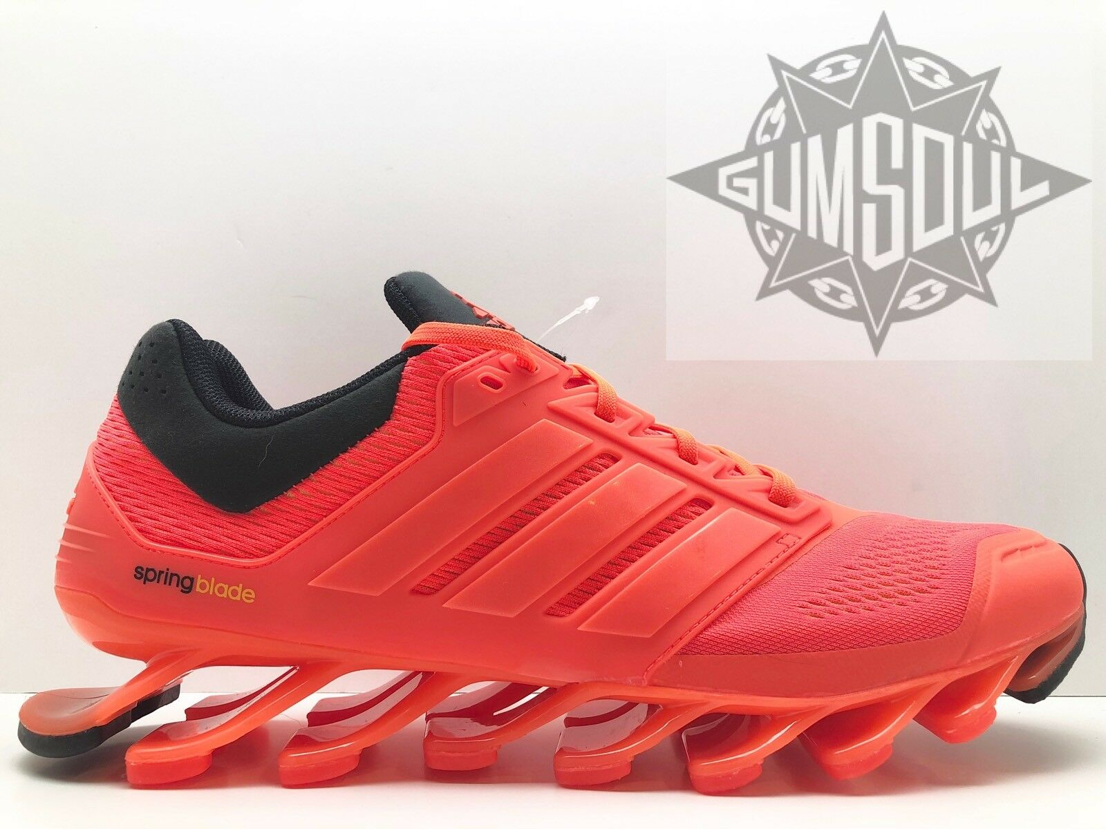 ADIDAS SPRINGBLADE M SOLAR RED BLACK D73957 sz 11