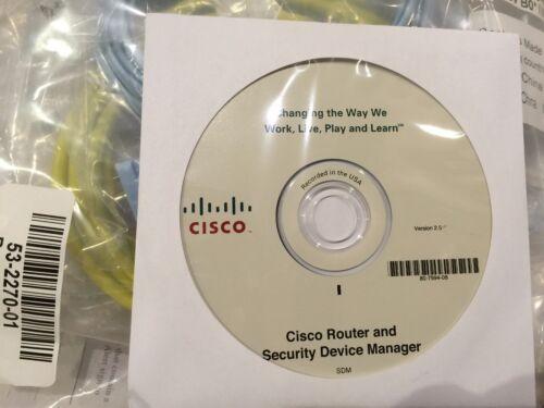 New Cisco 2821 C2821-VSEC-CCME//K9 CCX-50-CME-Bundle Voice+Security PoE AIM-VPN