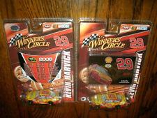 NASCAR WINNERS CIRCLE 1:64 DIECAST #29 KEVIN HARVICK LOT OF 2 CARS