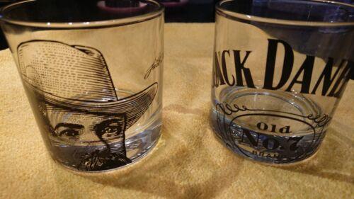 7 Tennessee Whiskey Whisky Portrait Rocks Glasses Set of 4 Jack Daniels Old No