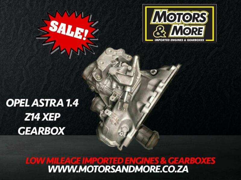 Opel Corsa 1.4 Z14XEP Manual Gearbox now available at Motors & More Gqeberha - PE
