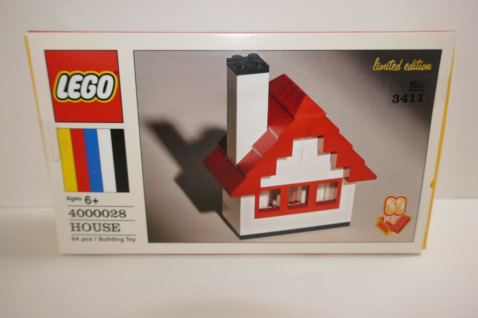 Lego 60th Anniversary Limited Edition House  4000028 RARE NumbeROT Box BRAND NEW