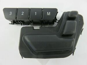 Mercedes-Benz-C-Class-C300-Passenger-Seat-Adjustment-Switch-Right-Black-2010-201