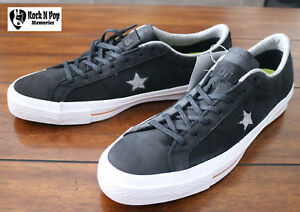 08515560c12b Converse Cons Men s One Star Nubuck OX Skateboard Black Leather Size ...
