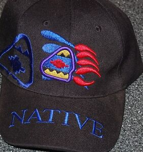 7a2369a5c34 Image is loading Native-Pride-Baseball-Caps-Hat-Black-with-Bear-