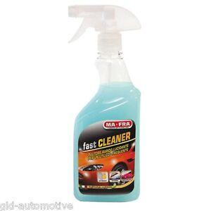 Pulitore rapido Ma-Fra Fast Cleaner 500ml idrorepellente su vetri e carrozzeria