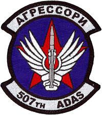 USAF 507th AIR DEFENSE AGGRESSOR SQUADRON PATCH - CYRILLIC