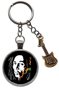 Bob Marley One Love Keyring U1
